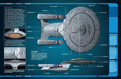 Star Trek Official Starships Collection page spread