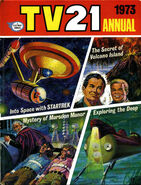 TV21 Annual 1973 Cover