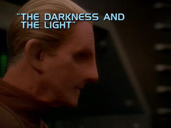 The Darkness and the Light title card