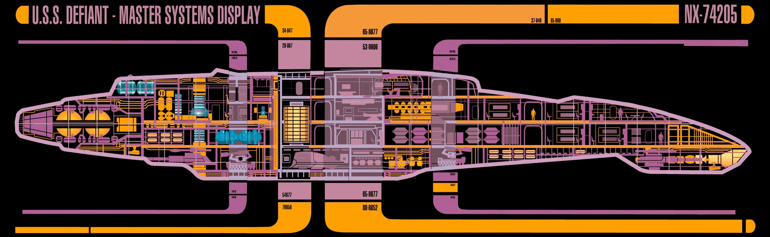 Defiant Class Memory Alpha Fandom Powered By Wikia Star Trek Engineering Schematics Defenses