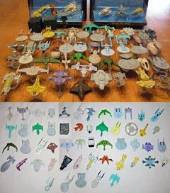 Galoob Star Trek MM complete collection