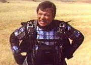 Geschnittene Szene - Kirk nach Orbitalsprung