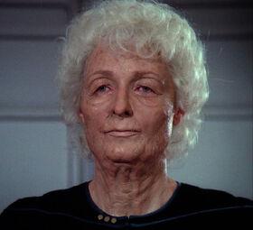 Katherine Pulaski, prematurely aged