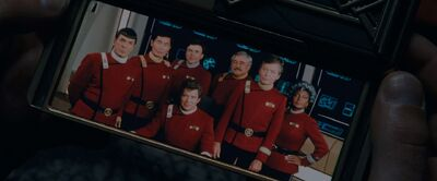 Spock's group photo