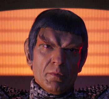 ...as Tomalak, a Romulan admiral