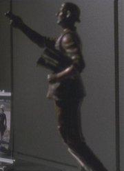 Zefram Cochrane Statue