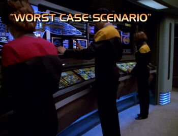 Worst Case Scenario title card