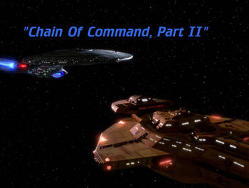 Chain of Command, Part II title card