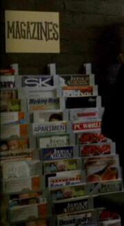Alexandria magazine rack