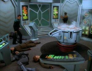 Bashir and O'Brien survive attack