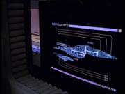 Größenvergleich USS Voyager und USS Equinox