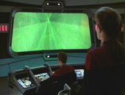 Janeway nimmt mit den Borg Kontakt auf