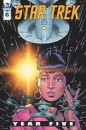 Star Trek Year Five issue 6 cover A