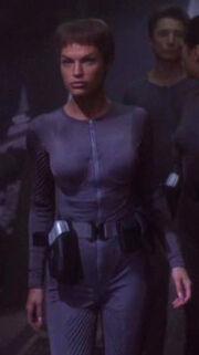 T'Pol auf dem Klingonenschiff