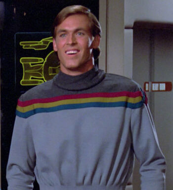 ...as Wesley Crusher, age 25
