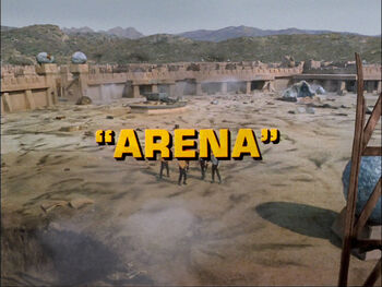 Arena title card