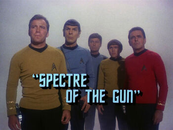 Spectre of the Gun title card