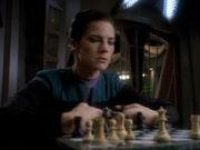 Dax räumt das Schachspiel ab
