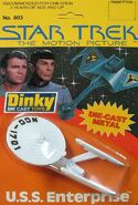 Dinky Toys No.803 USS Enterprise-A 1980