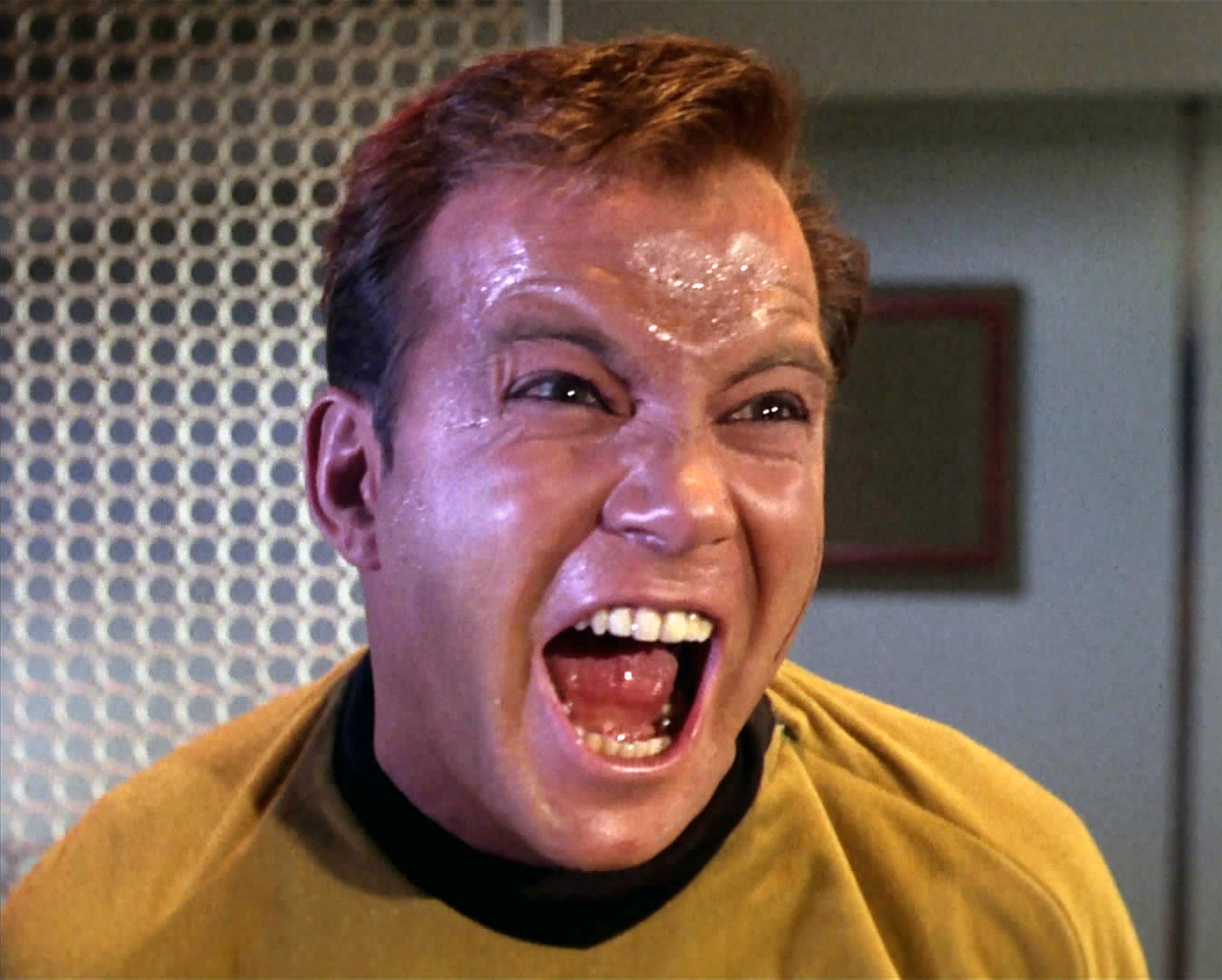 Image result for i'm captain kirk!