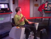 Kirk looks at Dax
