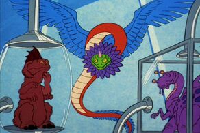Kukulkan in 2270, with some of his animal collection