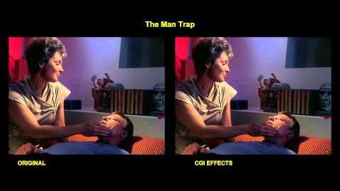 Star Trek - The Man Trap - visual effects comparison