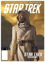 Star Trek Magazine US issue 63 PX cover