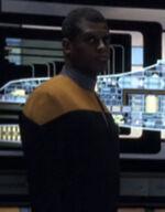 Voyager operations bridge officer, 2376