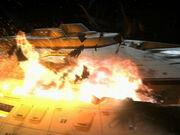 Explosionen auf der Voyager Deck 5; Sektionen 10 bis 53 1