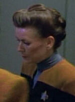 Female voyager engineer, 2371