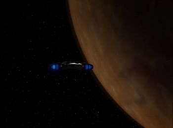 Second Founders' homeworld from orbit