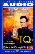 I, Q audiobook cover, US cassette edition