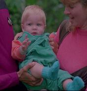 Jeremiah Rossa as infant