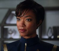 Michael Burnham, aboard the Shenzhou