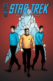 Missions End issue 1 cover B