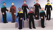 Playmates Voyager figures