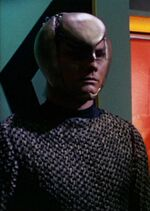 Romulan security room guard