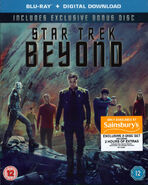 Star Trek Beyond Blu-ray Region B Sainsbury's cover