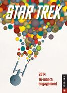 Star Trek Engagement Calendar 2014
