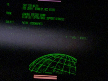 Starfleet Command order #2 received by the USS <i>John F Kennedy</i> in 2364.