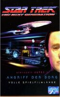 VHS-Cover TNG Angriff der Borg