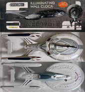 Wesco USS Enterprise-E wall clock
