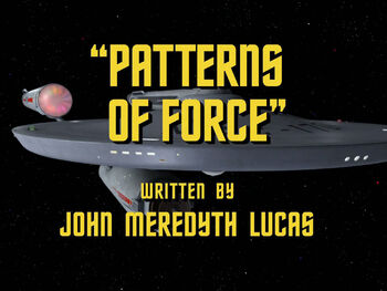 Patterns of Force title card