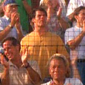 ...as a baseball spectator