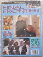 Final Frontier issue 21 cover