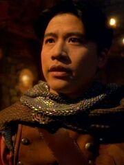 Harry Kim als Beowulf