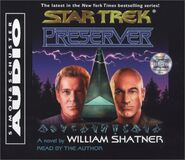Preserver audiobook cover, CD edition