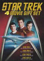 Star Trek 4-Movie Gift Set DVD cover