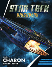 Star Trek Discovery Official Starships Collection Special Issue ISS Charon cover